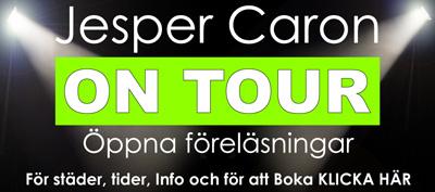 Jesper Caron öppna föreläsningar